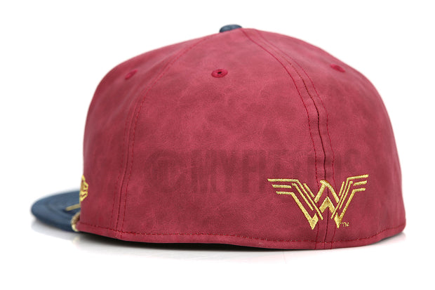 Wonder Woman 2017 Movie Collection Character Armor Limited Edition New Era Fitted Cap