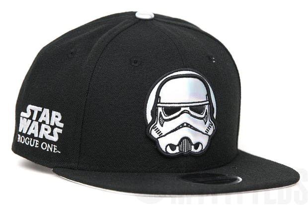 Star Wars Rogue One: A Star Wars Story Stormtrooper Holographic New Era Original Fit Snapback