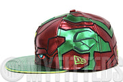 Avengers Age of Ultron Vision Character Armor Shimmering Jade Shimmering Scarlet New Era Hat