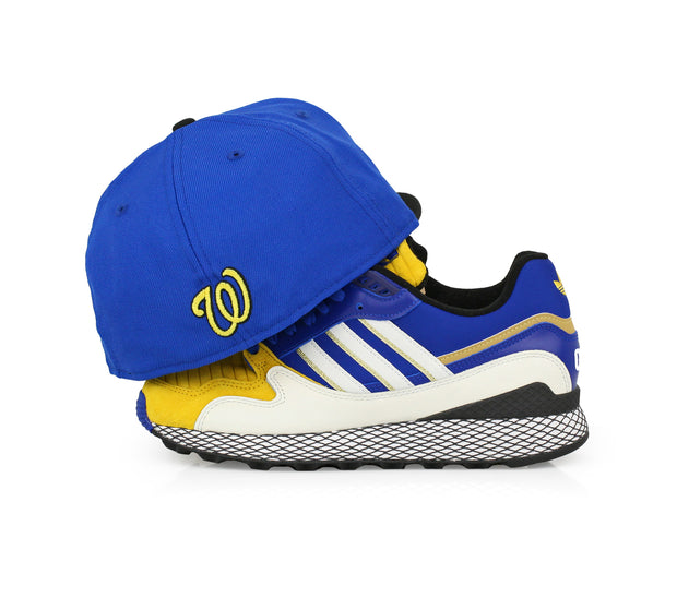 WASHINGTON NATIONALS ADIDAS ULTRA TECH DRAGON BALL Z / VEGETA NEW ERA FITTED CAP