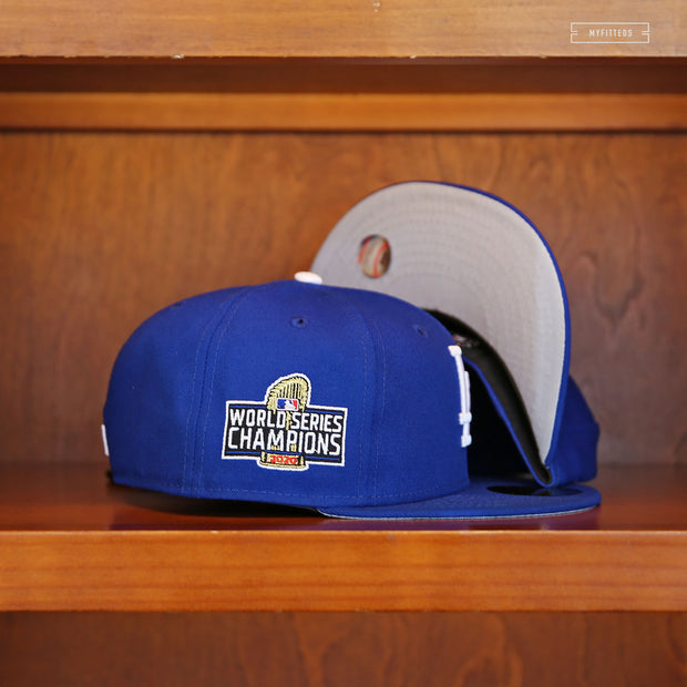 LOS ANGELES DODGERS 2020 WORLD SERIES CHAMPIONS NEW ERA FITTED CAP