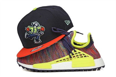 Vancouver Canucks Twin Cannons High Voltage LeBron IX Cannon HUMAN RACE NMD TR New Era Hat
