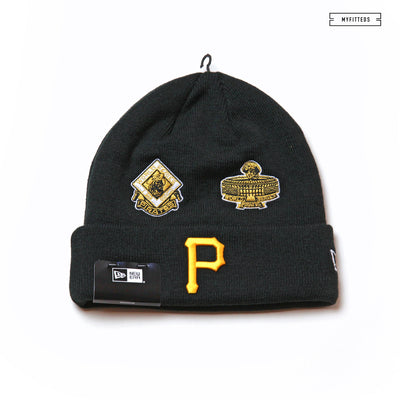 PITTSBURGH PIRATES TEAM ACCOLADES DOUBLE KNIT CUFFED NEW ERA SKULLY