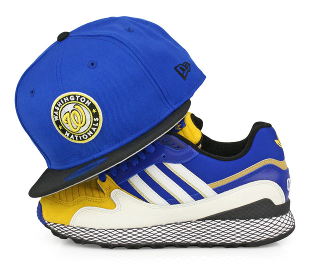 WASHINGTON NATIONALS ADIDAS ULTRATECH DRAGON BALL Z / VEGETA NEW ERA FITTED CAP