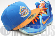 Texas Rangers Mineral Blue Solar Outburst Silver KD VI Elite LeBron IX China New Era Fitted Cap