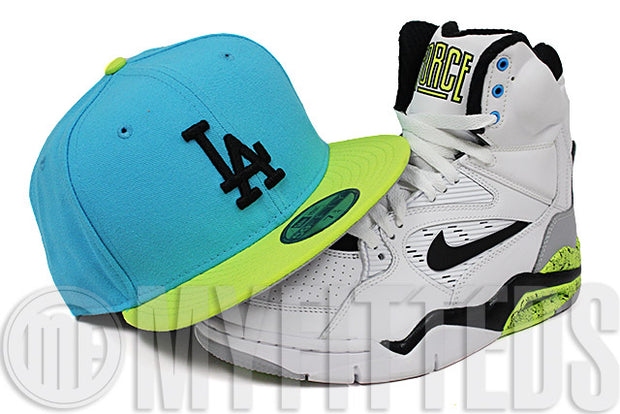 Los Angeles Dodgers Substance Blue High Voltage Air Command Force Billy Hoyle New Era Hat