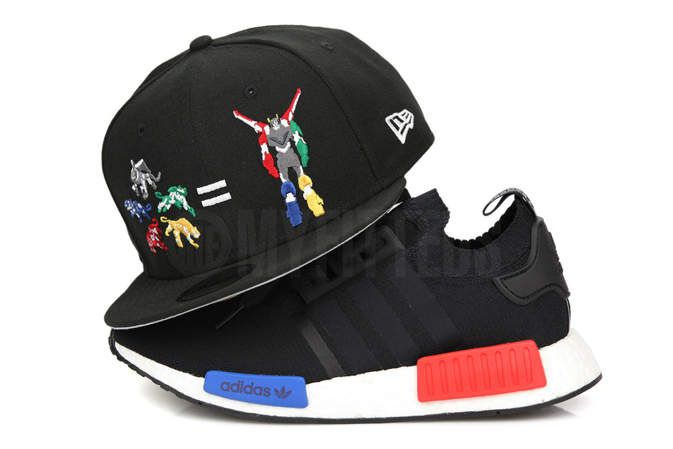db2643018 VOLTRON LEGENDARY DEFENDER NETFLIX / DREAMWORKS LIONS EQUATION LOGO  OFFICIAL NEW ERA 9FIFTY SNAPBACK HAT