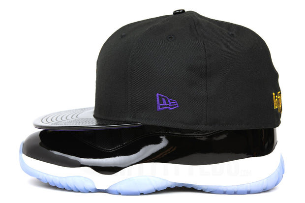 "Looney Tunes Daffy Duck Tunesquad Air Jordan XI ""Space Jam"" OG Matching New Era Hat"