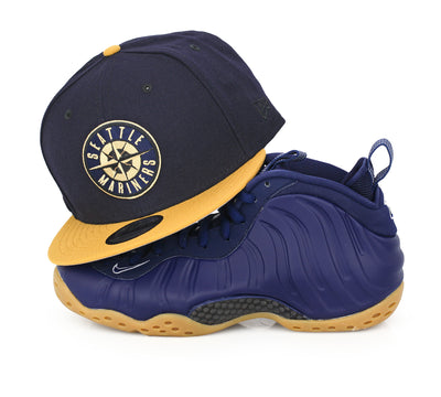 SEATTLE MARINERS MIDNIGHT NAVY GUM PACK NEW ERA 9FIFTY SNAPBACK HAT