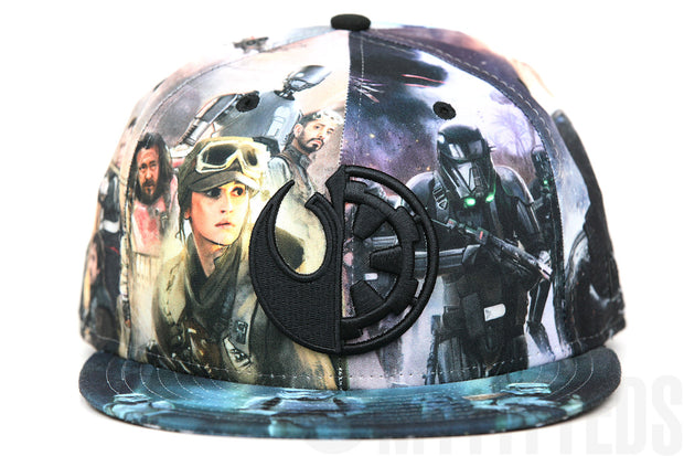 Star Wars Rogue One: A Star Wars Story Rebel Alliance VS Imperial Army All Over New Era Hat