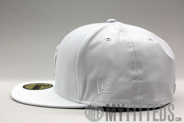 NEW YORK YANKEES CLASSIC White on White 59Fifty New Era Cap