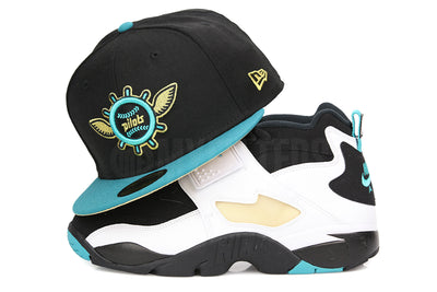 e0e60f88fa1 Seattle Pilots Jet Black Pure Aqua Metallic Gold Air Diamond Turf