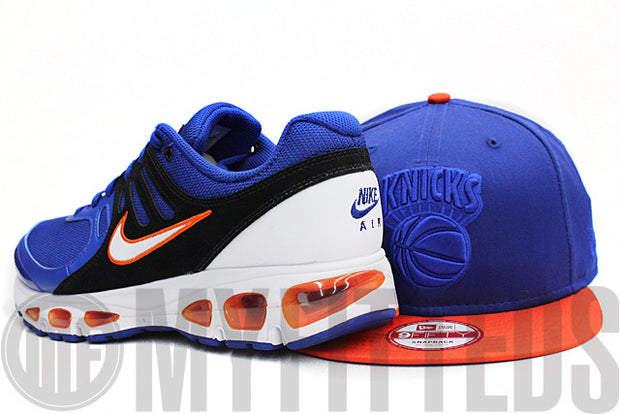 New York Knicks Tonal Varsity Royal Team Orange 2 Tone Knicks Foamposite New Era Snapback