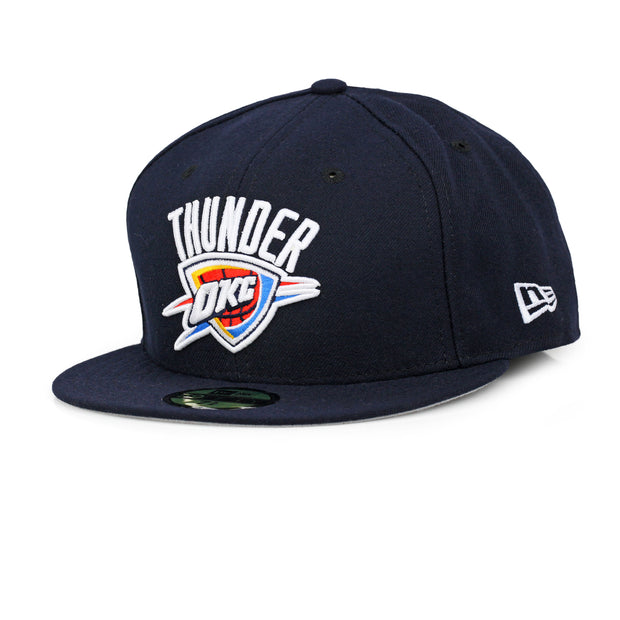 OKLAHOMA CITY THUNDER MADE IN USA PRIMARY NEW ERA 59FIFTY FITTED CAP