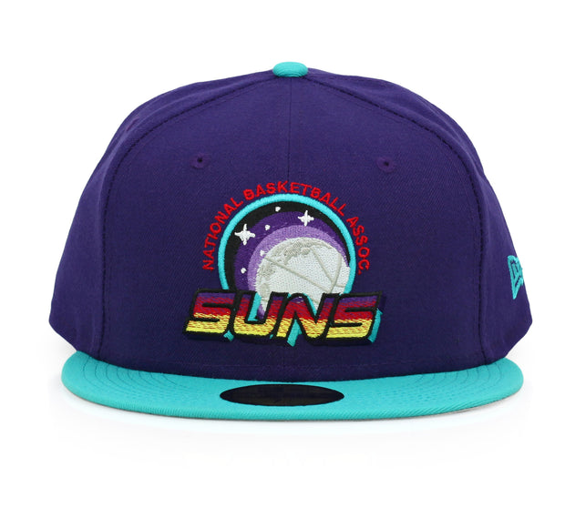PHOENIX SUNS COSMIC WOMENS AIR JORDAN VIII AQUA MATCHING NEW ERA FITTED CAP