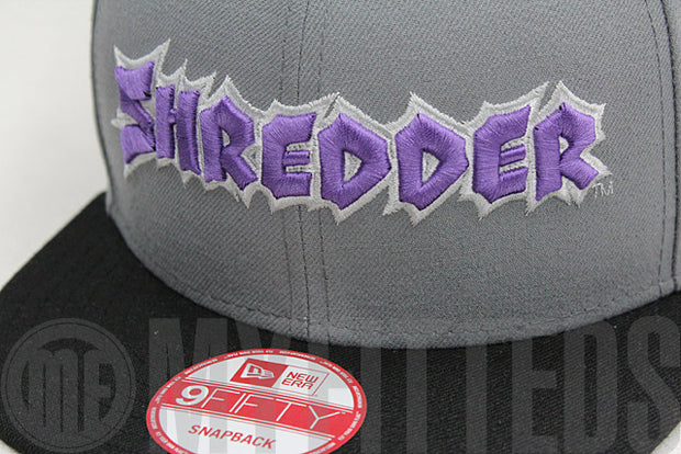 Shredder Teenage Mutant Ninja Turtles TMNT Placid Grey Hyacinth Purple New Era Snapback