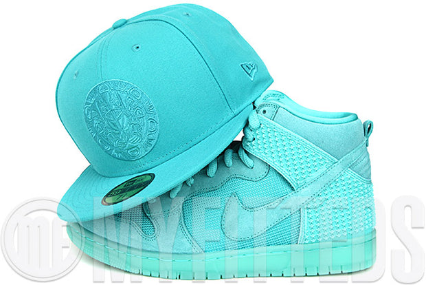 Vancouver Grizzlies Solid Omni Filament Native Nike Dunk High CMFT Light Retro New Era Hat