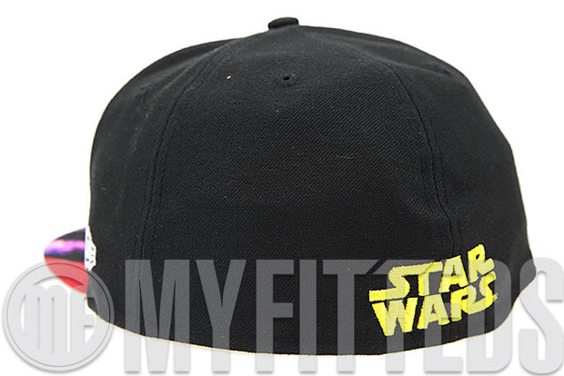 Star Wars Episode VI: The Return of the Jedi Visor Print Movie Inspired New Era Fitted Cap