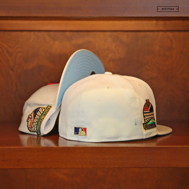 SAN DIEGO PADRES EST. SAN DIEGO STADIUM DUAL PATCH NEW ERA FITTED CAP