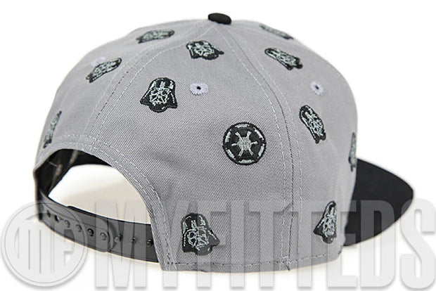 Star Wars Scattered Villains Imperial Army Wolf Storm Grey Jet Black Original Fit New Era Snapback