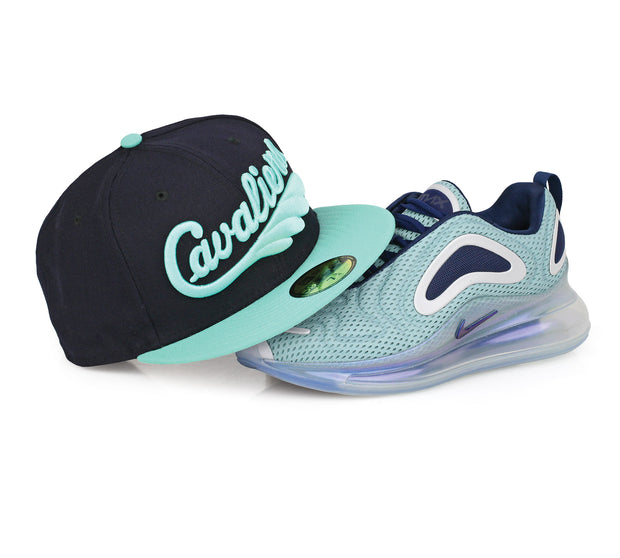 "CLEVELAND CAVALIERS AIR MAX 720 ""NORTHERN LIGHTS (DAY)"" MATCHING NEW ERA HAT"