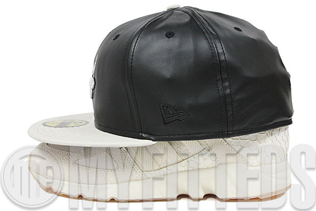Chicago Bulls Faux Leather Black Earthstone EQT Guidance King Push & Air Jordan IV Oreo New Era Hat