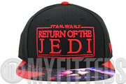 Star Wars Episode VI: The Return of the Jedi Movie Visor Print New Era Original Fit Snapback