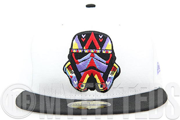 "Star Wars The Force Awakens Abstract Stormtrooper Air Jodan VII ""Ugly Sweater"" Matching New Era Hat"