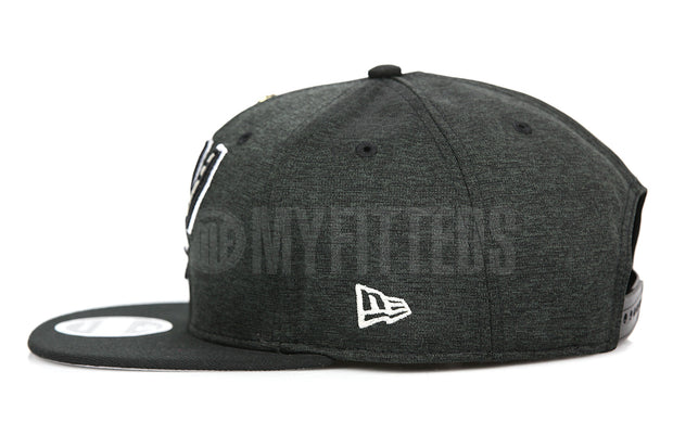 San Antonio Spurs 2014 NBA Finals Champions Jet Black NE Tech New Era Original Fit Snapback