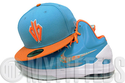 Arizona Diamondbacks Blue Coast Solar Outburst Glacial White KD V Easter Matching New Era Hat
