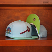 "PENNY ONE CENT AIR FOAMPOSITE ONE ""HABANERO RED"" MATCHING NEW ERA SNAPBACK"