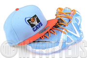 "Cleveland Cavaliers Ultra Blue Orangeade 1997 NBA All Star Game LeBron XII Elite ""Cavs"" New Era Hat"