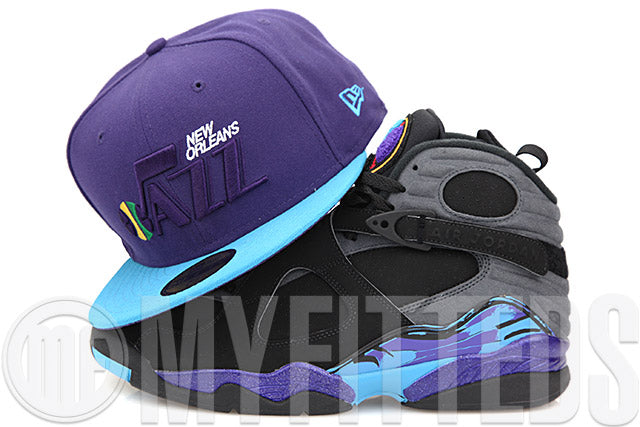 7d0ad43d0f695d New Orleans Jazz 2008 NBA All Star Game Air Jordan VIII Aqua Air Jordan X  Charlotte
