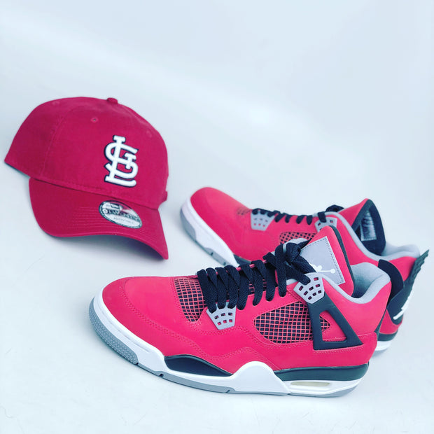 ST. LOUIS CARDINALS BASIC NEW ERA 9TWENTY ADJUSTABLE STRAPBACK DAD HAT