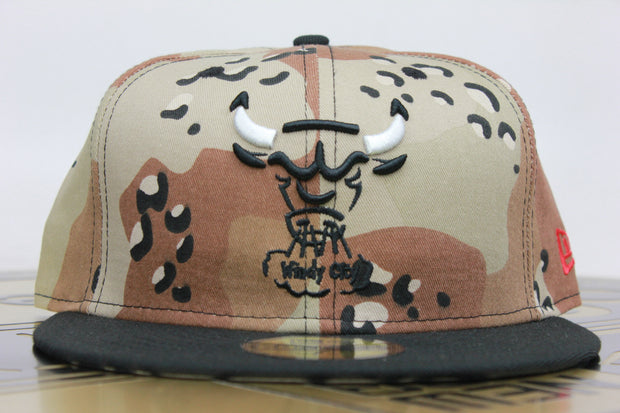 f0309d97ffe023 CHICAGO BULLS AIR JORDAN 5 RETRO SUPREME DESERT CAMO MATCHING NEW ERA  59FIFTY FITTED HAT