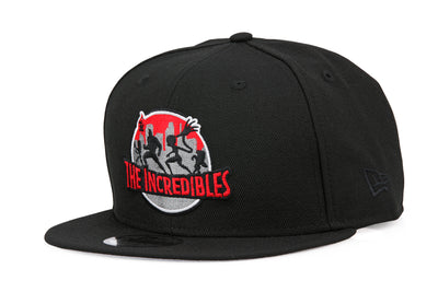 DISNEY PIXAR THE INCREDIBLES SILHOUETTE NEW ERA 9FIFTY SNAPBACK HAT