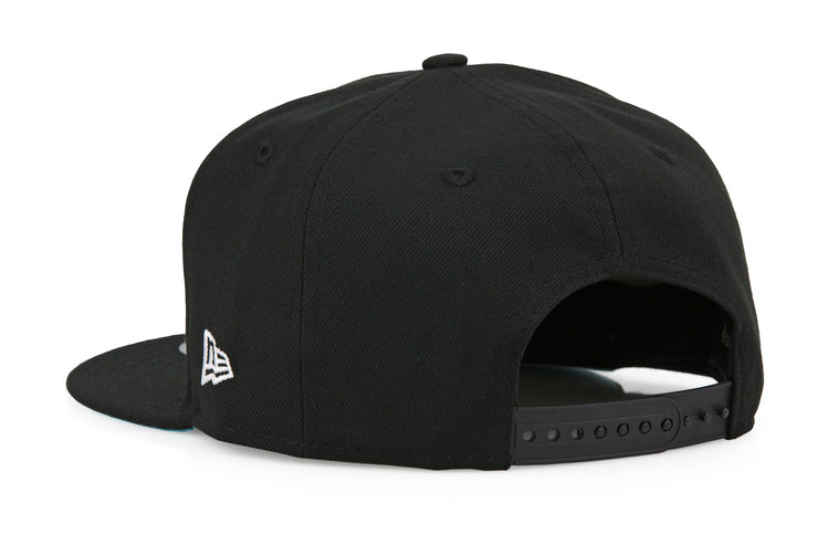 DISNEY PIXAR THE INCREDIBLES BLACK & WHITE LOGO NEW ERA SNAPBACK