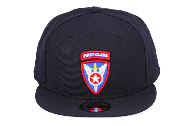 FIRST CLASS DEFENDER SERIES SHIELD BADGE NEW ERA SNAPBACK