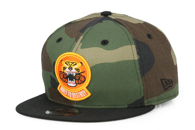 BUILT TO DESTROY DEFENDER SERIES TYRANT TIGER NEW ERA SNAPBACK