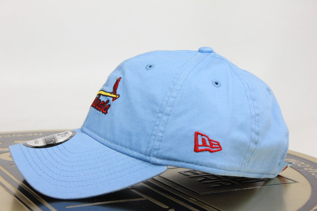 ST. LOUIS CARDINALS NEW ERA 9TWENTY ADJUSTABLE STRAPBACK DAD HAT