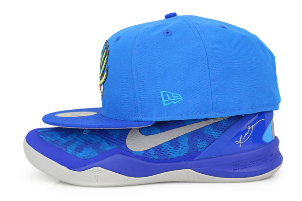 "VANCOUVER GRIZZLIES KOBE VIII SYSTEM ""BLUE CORAL SNAKE"" MATCHING NEW ERA HAT"