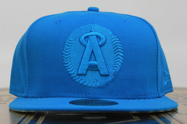 CALIFORNIA ANGELS BLUETOP NEW ERA 59FIFTY FITTED HAT