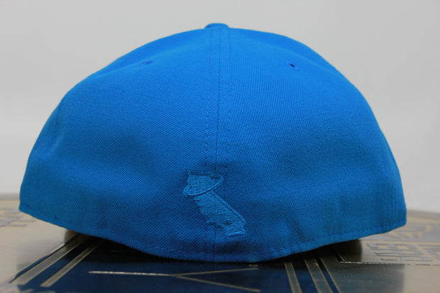 CALIFORNIA ANGELS VIBRANT BLUE NEW ERA 59FIFTY FITTED HAT