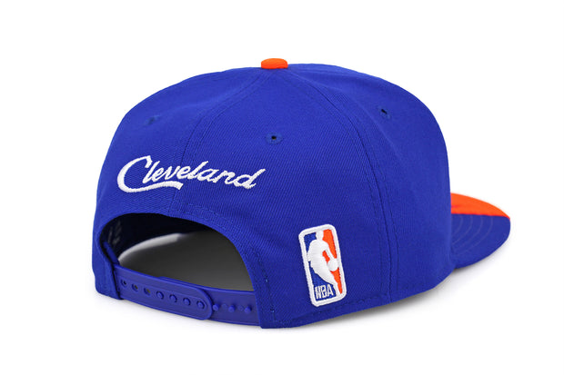 CLEVELAND CAVALIERS NBA AUTHENTICS CITY SERIES ALTERNATE NEW ERA SNAPBACK