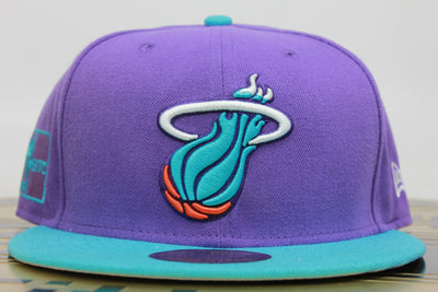 MIAMI HEAT 2 TONE NEW ERA 59FIFTY FITTED HAT