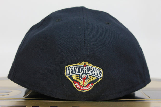 NEW ORLEANS PELICANS PRIMARY MADE IN USA NEW ERA 59FIFTY FITTED HAT