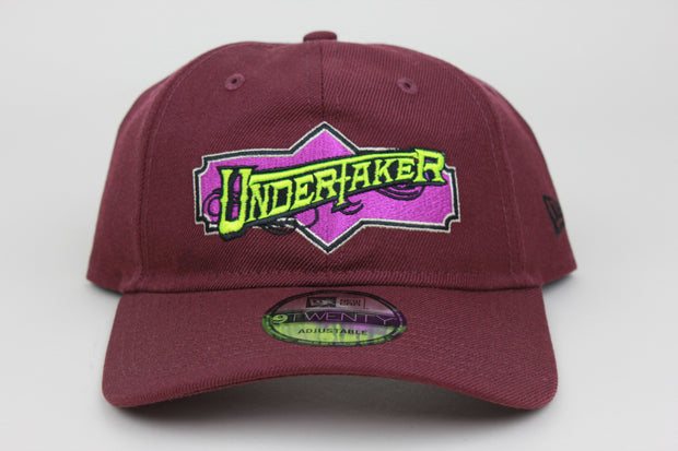 UNDERTAKER WWE NEW ERA 9TWENTY ADJUSTABLE DAD HAT