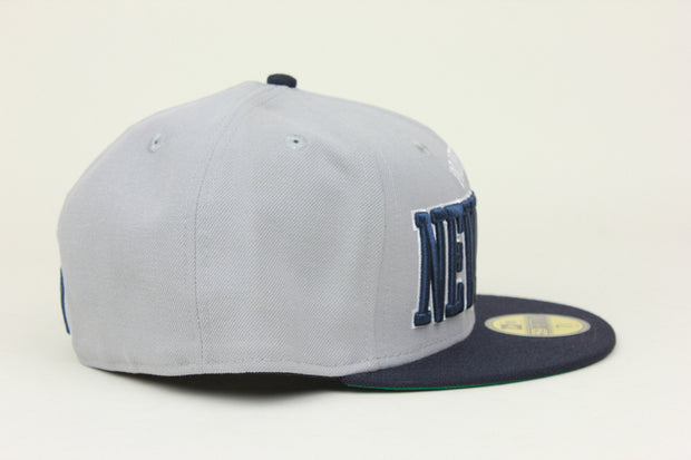 NEW YORK YANKEES 'PROPERTY OF NEW YORK' TEAM COLORS NEW ERA 59FIFTY FITTED HAT