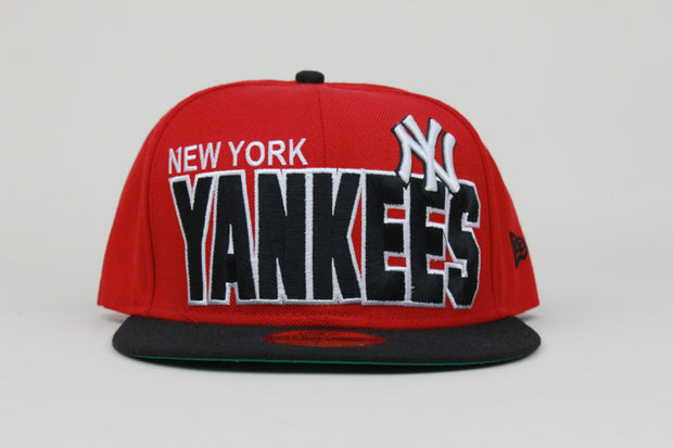 NEW YORK YANKEES BIG WORDMARK NEW ERA 59FIFTY FITTED HAT