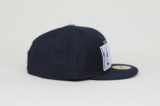 NEW YORK YANKEES INNER BLOCK LOGO NEW ERA 59FIFTY FITTED HAT